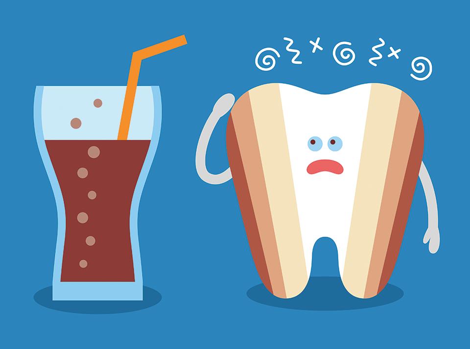 eroziune dentara